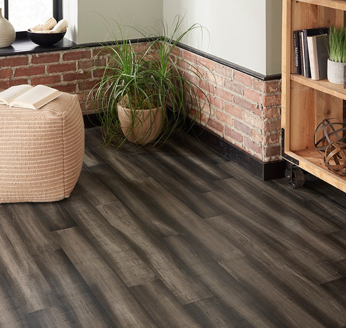 Smoky Mountain 8.5 mm Thickness x 5.12 in. Width x 36.22 in Length Water Resistant Engineered Bamboo Flooring (10.30 sq. ft. / case)