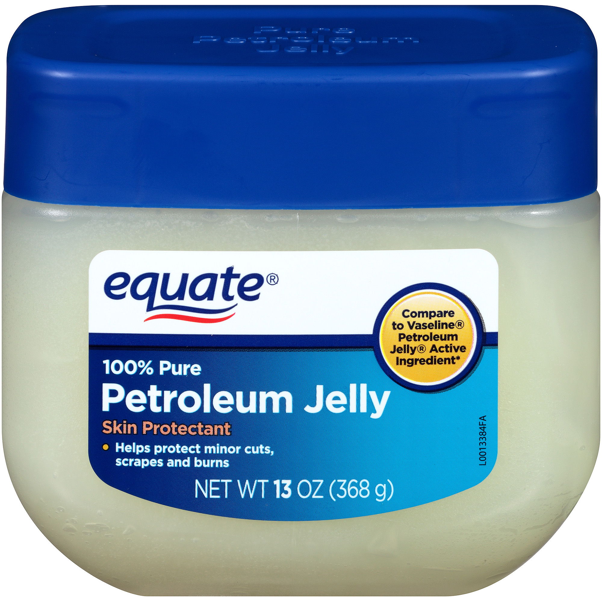 Equate 100% Pure Petroleum Jelly Skin Protectant, 13 oz