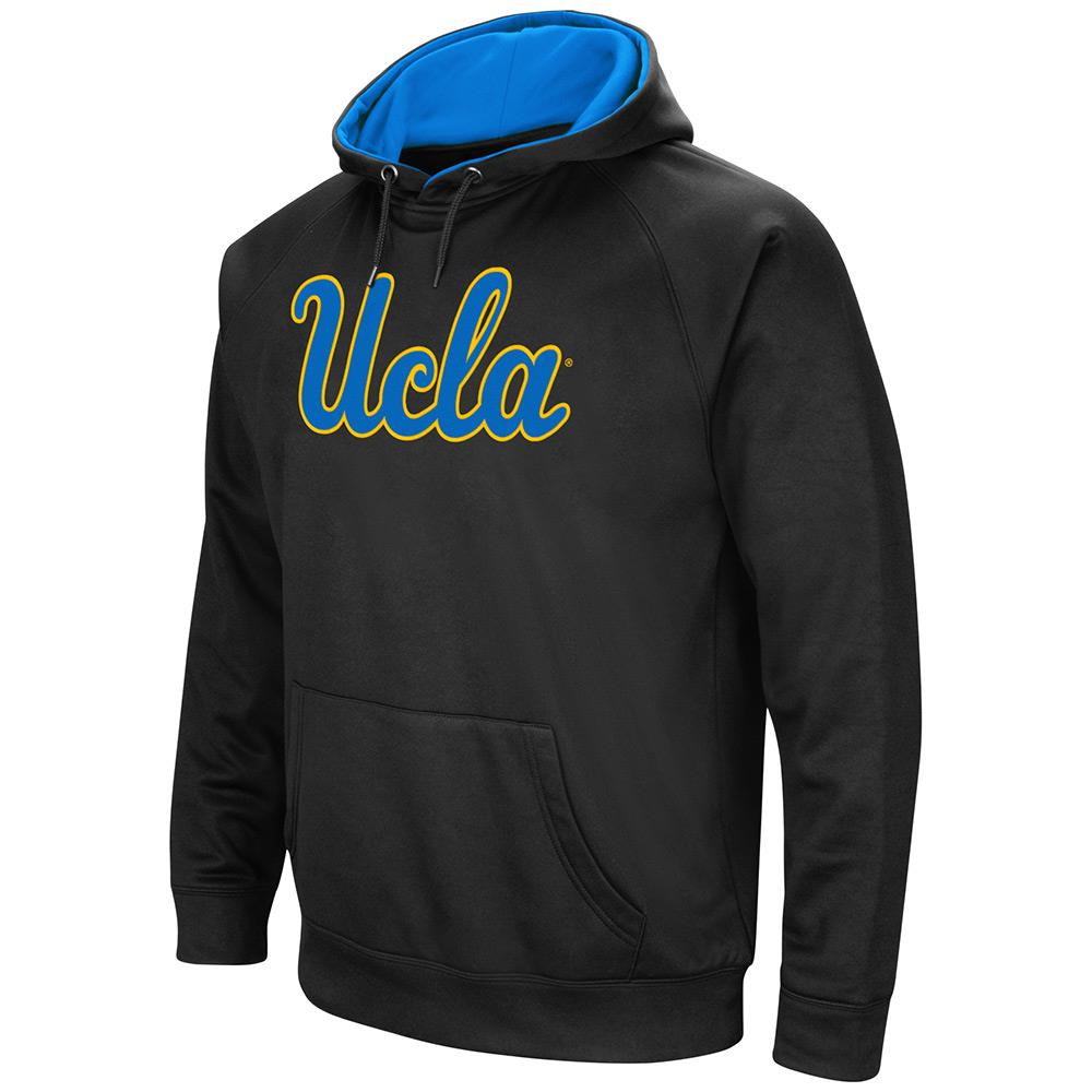 Mens NCAA UCLA Bruins Black Pull-over Hoodie