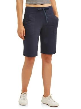 "Athletic Works Women's Athleisure Dri More Core Active 12"" Bermuda Shorts"