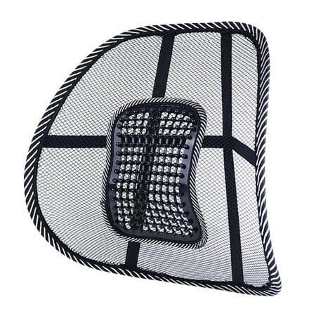 Car Chair Back Support Massage Cushion Mesh Relief Lumbar Brace Car Truck Office Home Cushion Seat Chair Lumbar Support
