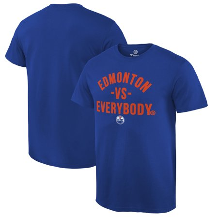 Edmonton Oilers Fanatics Branded Team vs. Everybody T-Shirt - Royal