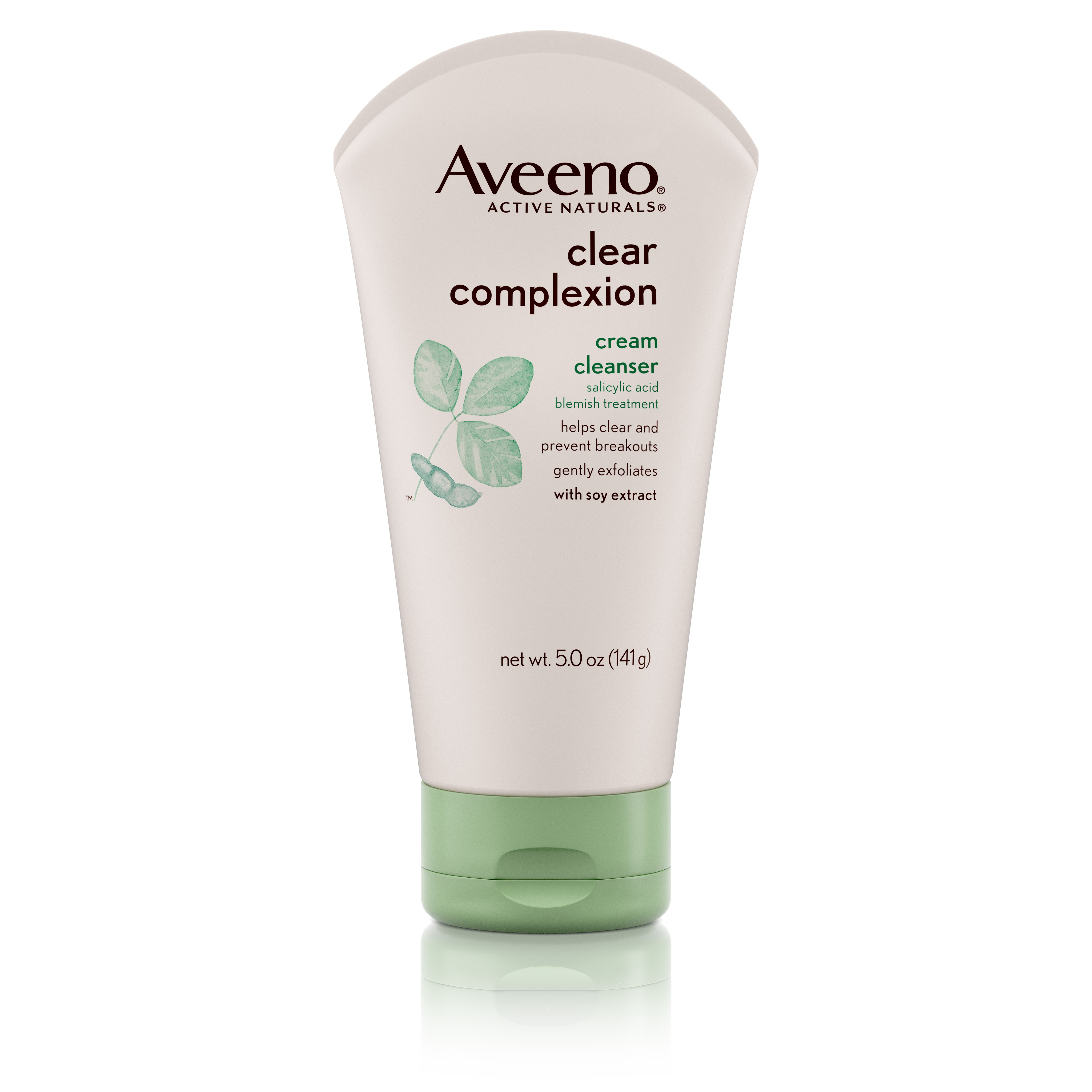 Aveeno Active Naturals Clear Complexion Cream Cleanser, 5?oz - Walmart.com