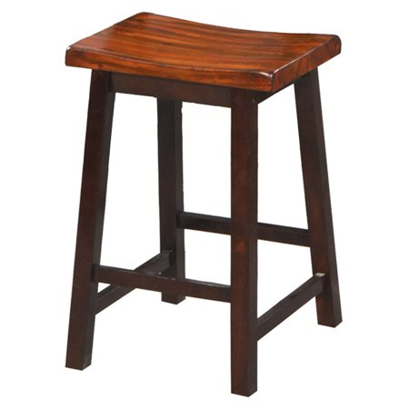 Winners Only Fifth Avenue Counter Height Saddle Bar Stool - Set of 2