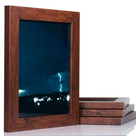 craig frames bauhaus modern dark walnut picture frame set. Black Bedroom Furniture Sets. Home Design Ideas