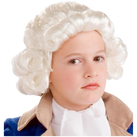 Forum Novelties Boys Colonial Kids White Child Wig | 68562 for $<!---->