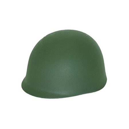 Jacobson Hat Company Men's Army Helmet, Green, Adult - image 1 of 1