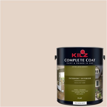KILZ COMPLETE COAT Interior/Exterior Paint & Primer in One #LJ140 Dried (Best Way To Dry Paint)