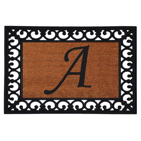 Calloway Mills Monogram Insert Outdoor Doormat 19