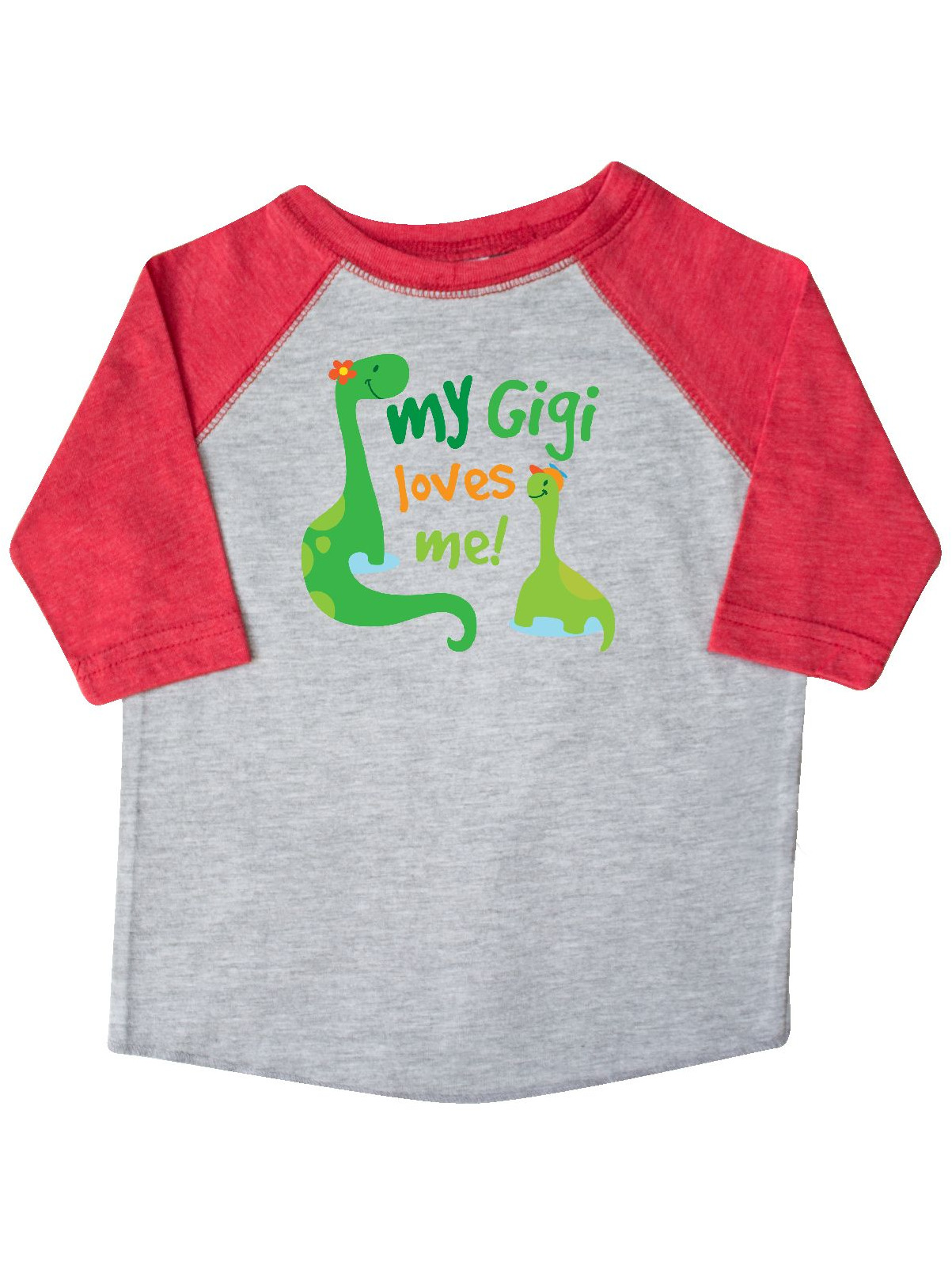 My Gigi Loves Me Grandson Gift Toddler T-Shirt