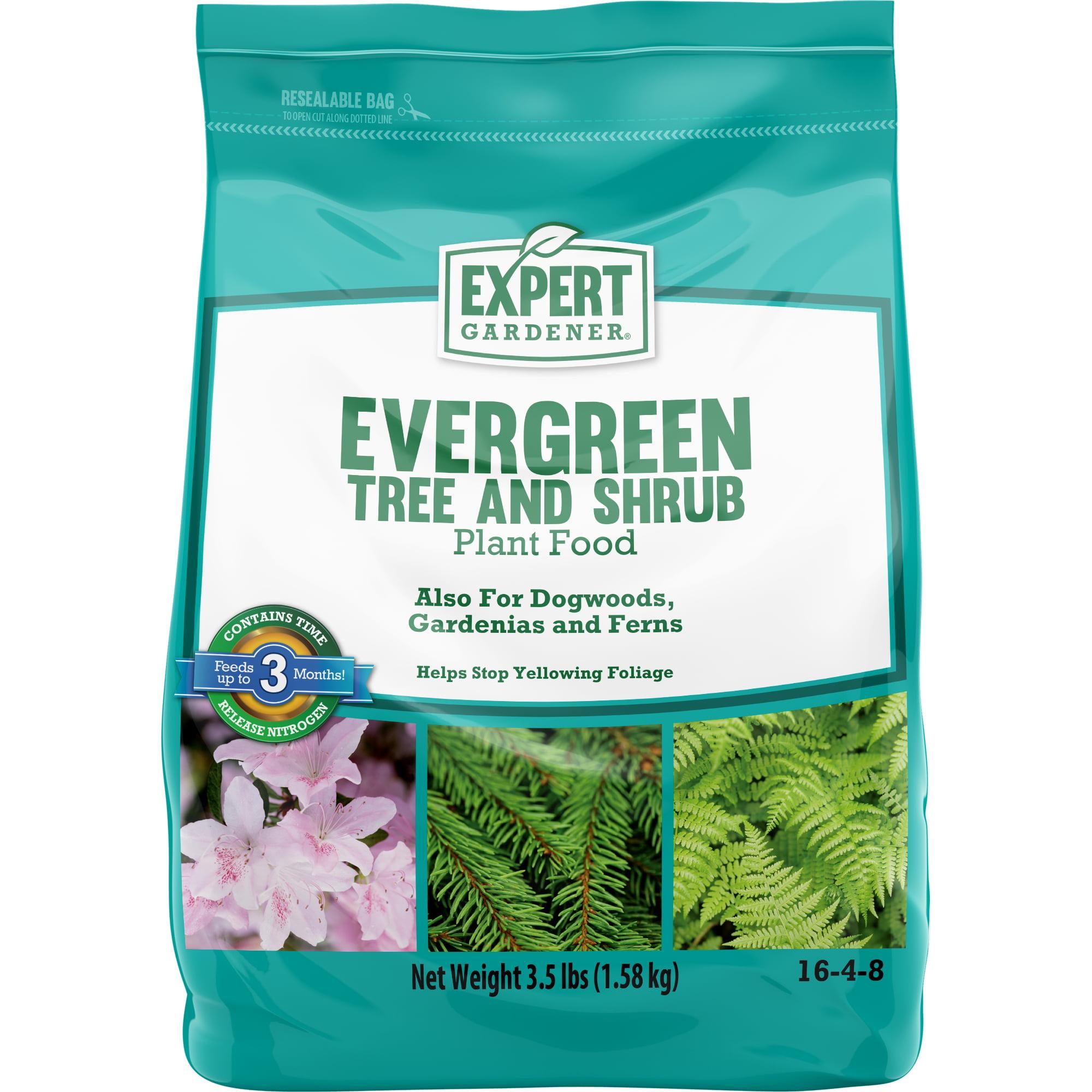 Expert Gardener Evergreen Tree and Shrub Plant Food 16-4-8; 3.5 Pounds
