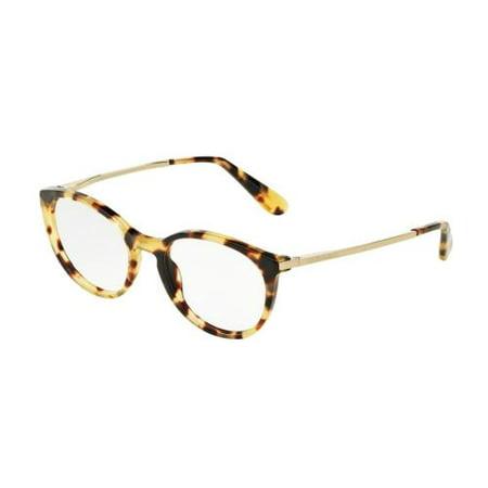 ab3e917ded30 DOLCE   GABBANA Eyeglasses DG 3242 512 Cube Havana 48MM - Walmart.com