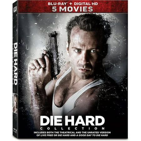Die Hard Collection (5 Movies) (Blu-ray) (Die Raw-küche)