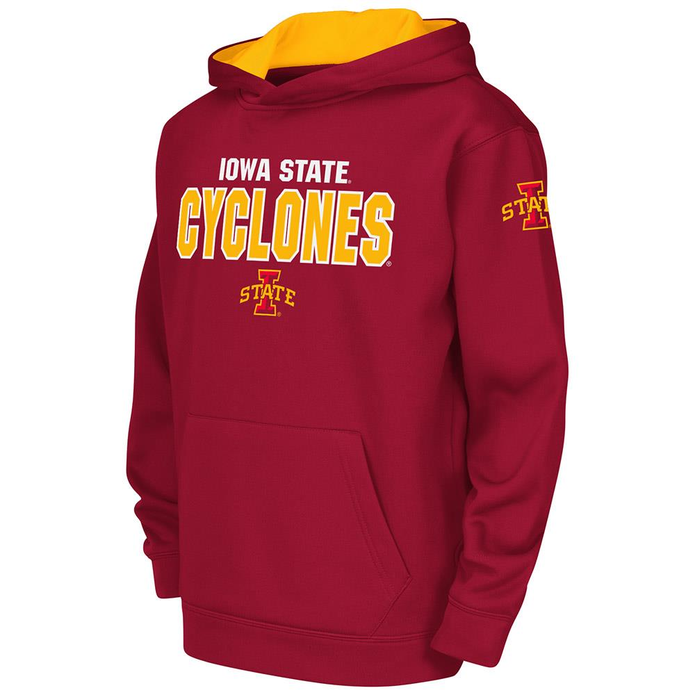Youth NCAA Iowa State Cyclones Poly Pull-over Hoodie