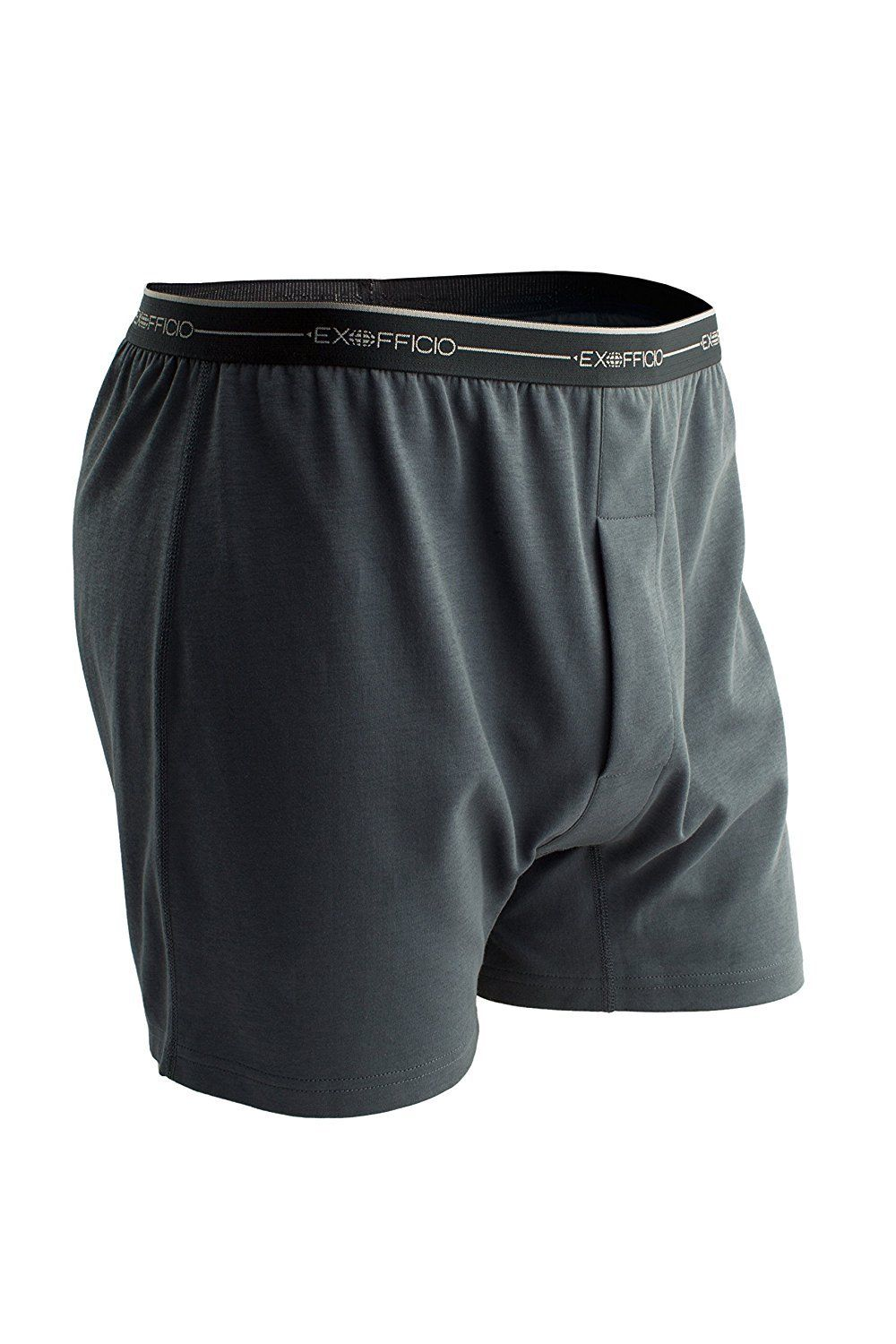 ExOfficio Men's Sol Cool Boxer 1241-2894-Medium-Carbon by ExOfficio