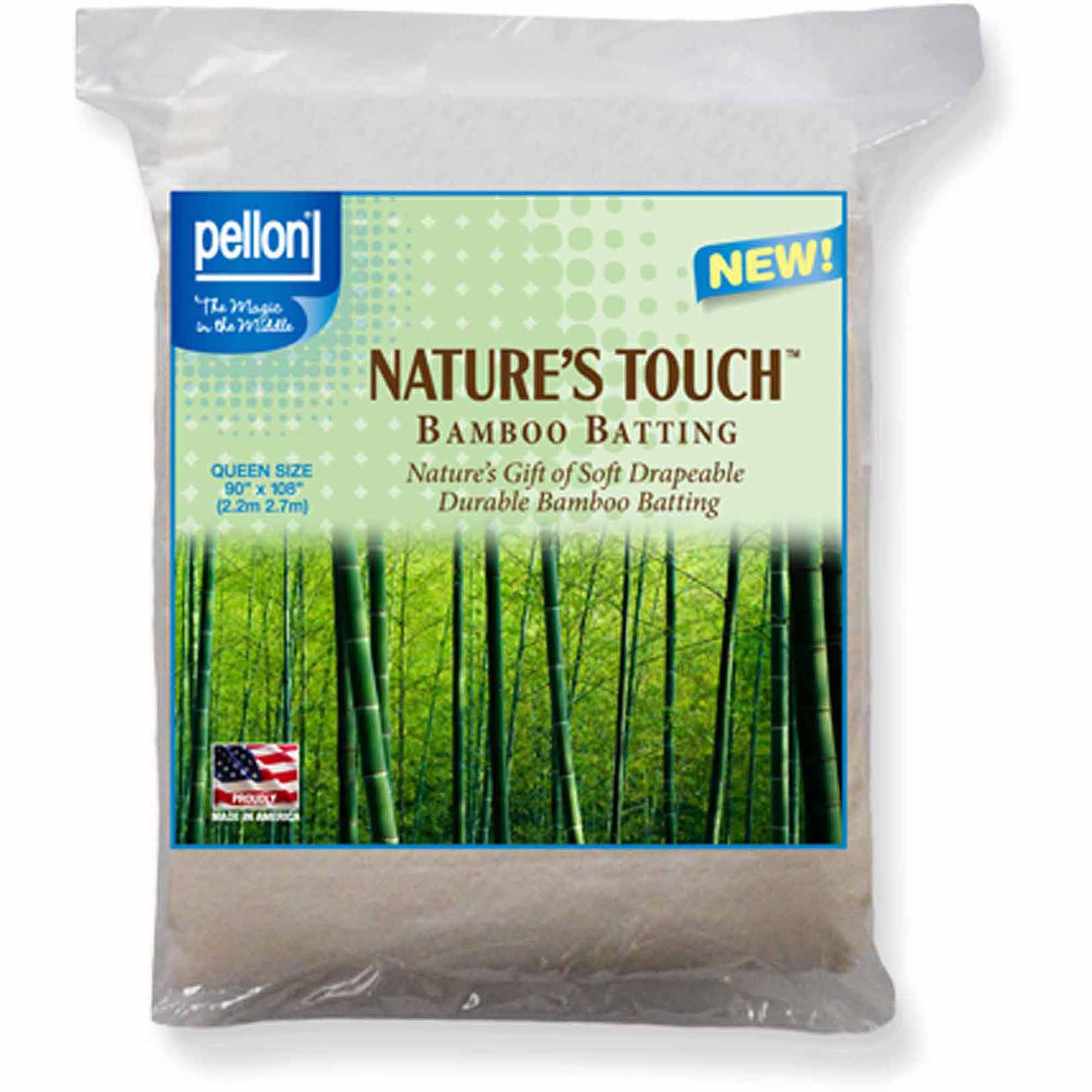 Pellon Nature's Touch Bamboo Blend Batting, Queen-Sized