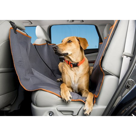 Dog Car Seat Cover Hammock Style For Back Or Bench Waterproof With Anchors
