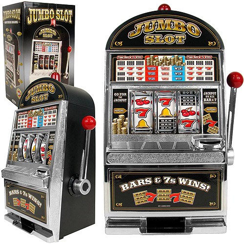 Jumbo Slot Machine Bank Replication