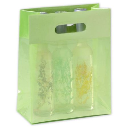 Bags & Bows by Deluxe PRBAG-55 Honeydew Jelly Bags - Case of 250