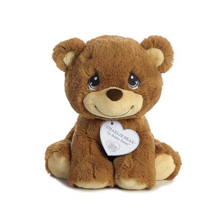 Charlie Bear 8 inch - Baby Stuffed Animal by Precious Moments (15700)