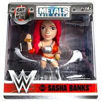 "Sasha Banks WWE M243 Jada Metals Diecast Figure 2.5"""