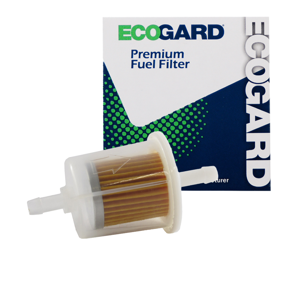 ecogard xf20011b small engine fuel filter ? 1 4? or 5 16? line fits lawn mowers tractors generators atvs and more Small Fuel Filter Cartridge