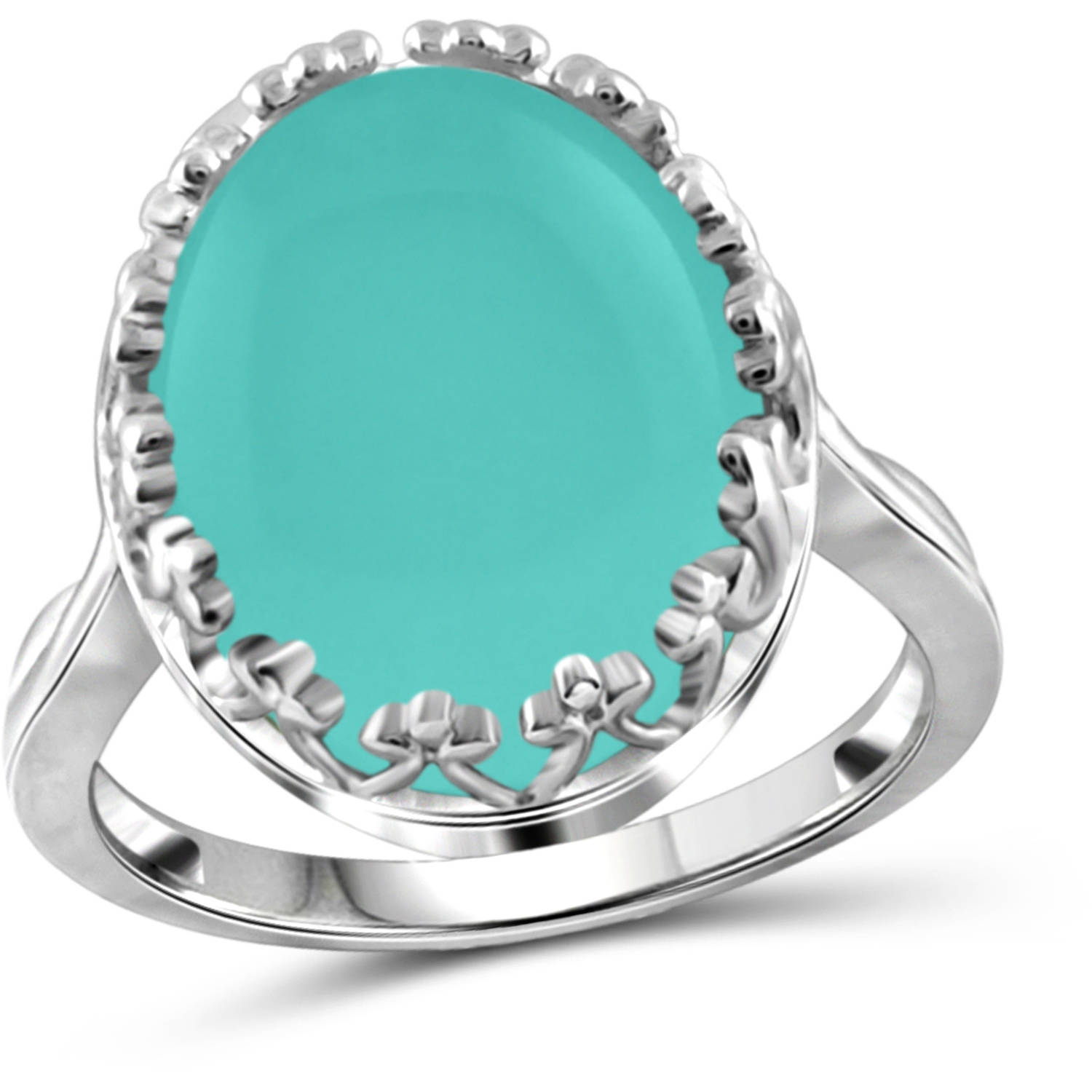 JewelersClub 9-3 4 Carat T.G.W. Chalcedony Sterling Silver Fashion Ring by JewelersClub