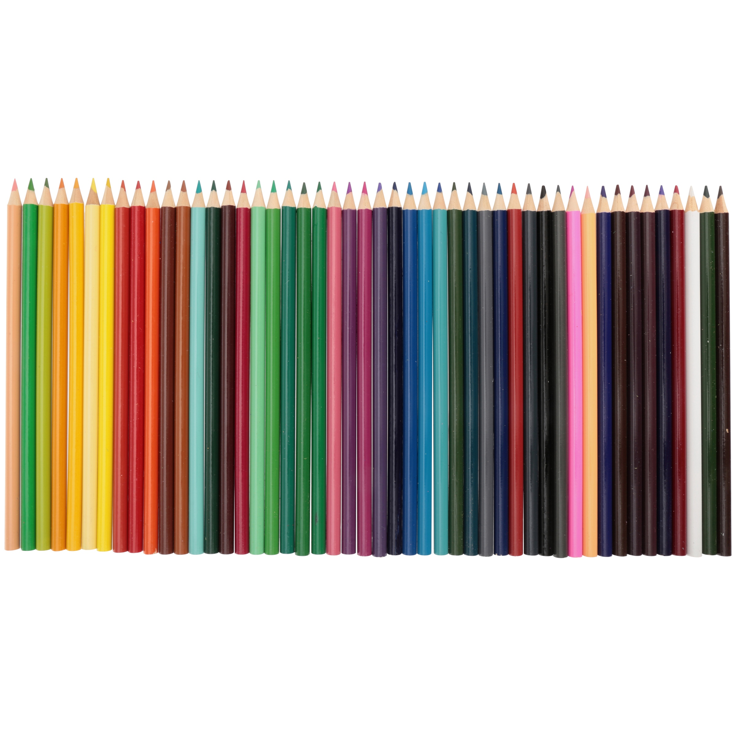 Leasure Arts Colored Pencils, 48 Count