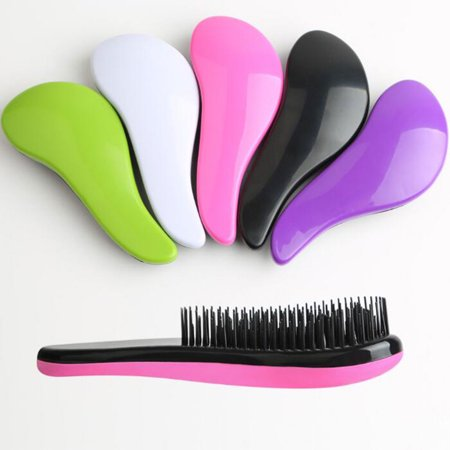 Mini 8 Colors Magic Handle Detangling Tangle Comb Shower Hair Brush Styling Salon