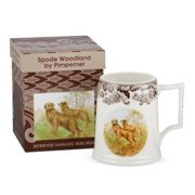 PIMPERNEL WOODLAND Golden Retriever Beer Mug