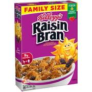 Kellogg's Raisin Bran Breakfast Cereal, Original, Family Size, 23.5 Oz