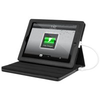 "Innovative Technology Rechargeable Power Case for Apple iPad and 10"" Tablets, Black"