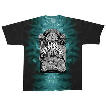 Led Zeppelin - Electric Magic Apparel T-Shirt - Tie Dye](Led Dye)
