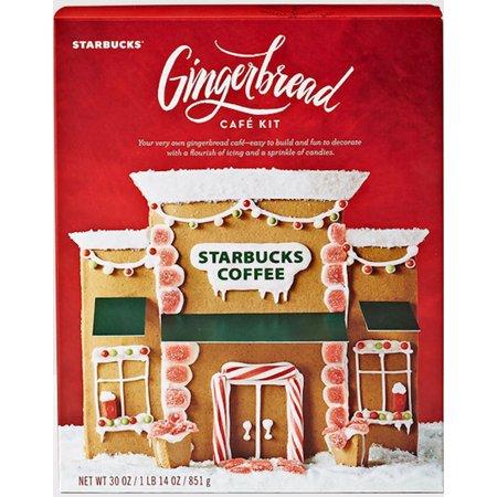starbucks gingerbread house cafe kit