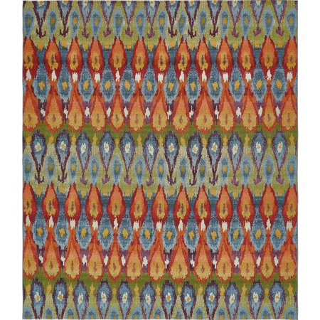 Eden Outdoor Multi 10 Ft X 12 Area Rug