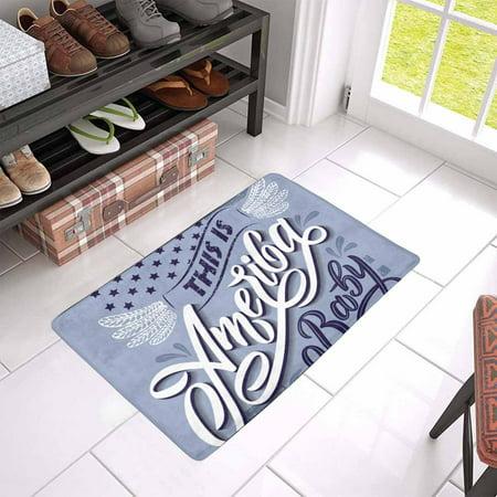 YUSDECOR This Is America Doormat Rug Home Decor Floor Mat Bath Mat 23.6x15.7 inch - image 2 of 3
