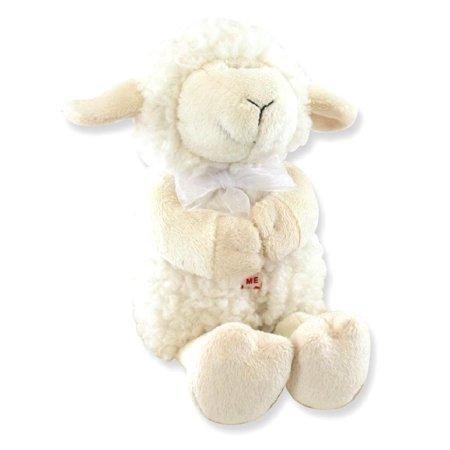 Praying Lamb (Plush Jesus Loves Me Praying Lamb Toy Baby For Women Gift)