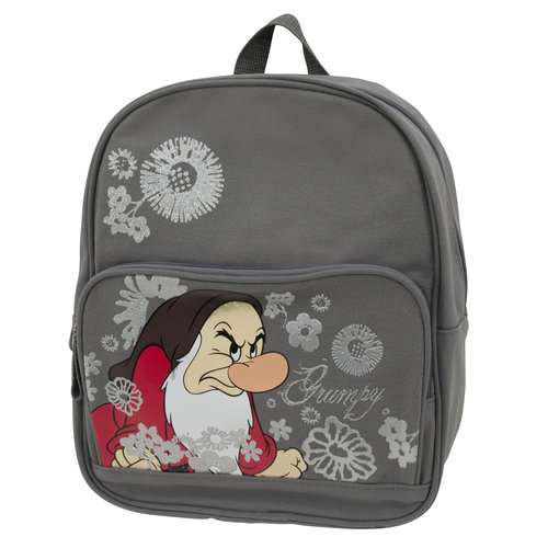 Grumpy Dwarf Small Backpack - Disney's Snow White Kids School Bag
