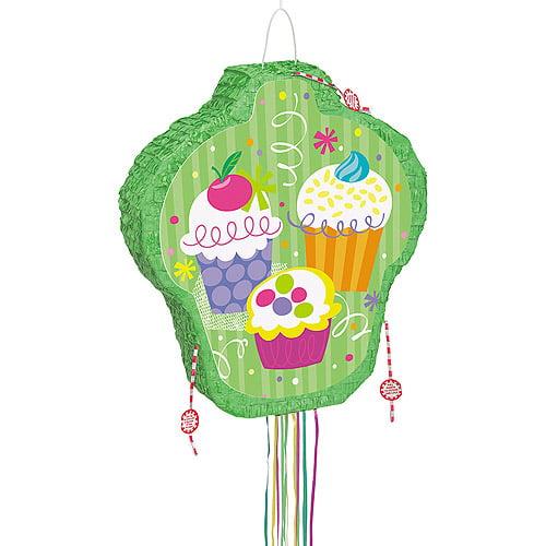 Cupcake Pinata, Pull String