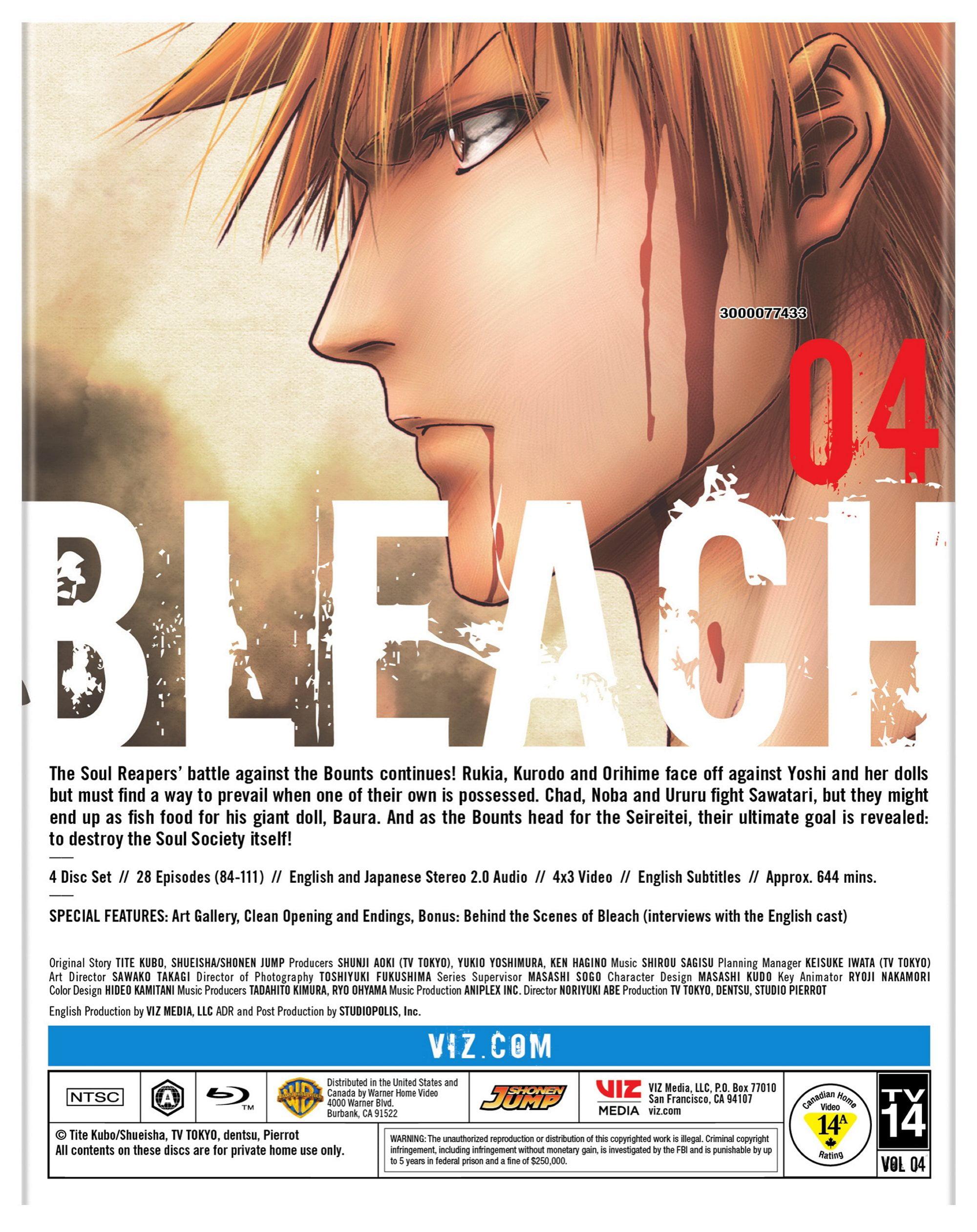 Bleach: Set 4 (Blu-ray)