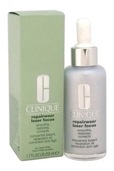 Clinique Repairwear Laser Focus Smooths, Restores, Corrects - All Skin Types Serum For Unisex