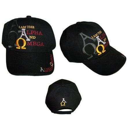 Brand New   Alpha   Omega   Christian Catholic Baseball Caps Hats Embroidered  Ccap311  Zz