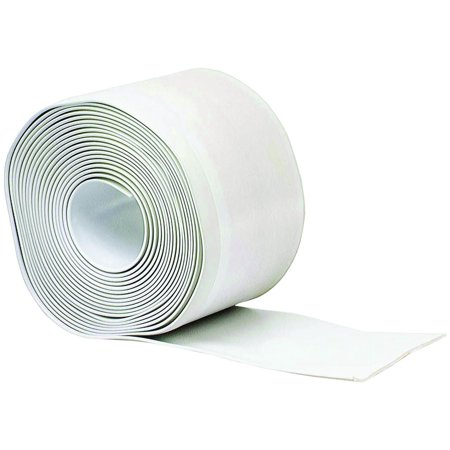 - M-D Products 93203 White Cove Wall Base Vinyl Rolls, 4' x 20'