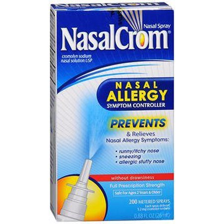 NasalCrom Nasal Allergy Symptom Controller Spray - 0.88 oz, Pack of