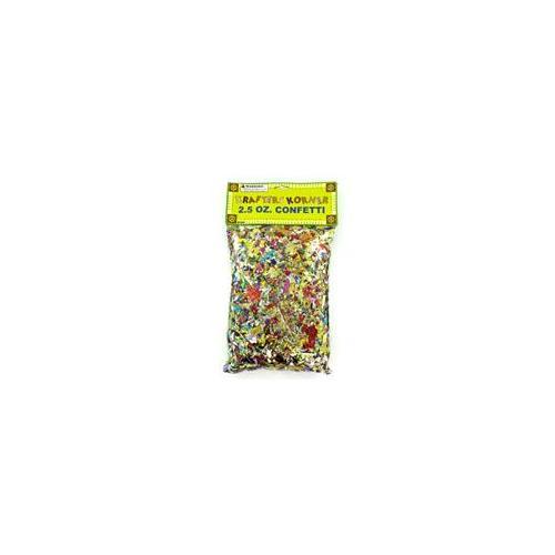 Jumbo craft confetti pack - Case of 12