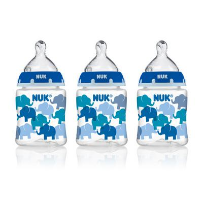NUK Wide-Neck Bottles 0+m - 3 PK, 3.0 PACK