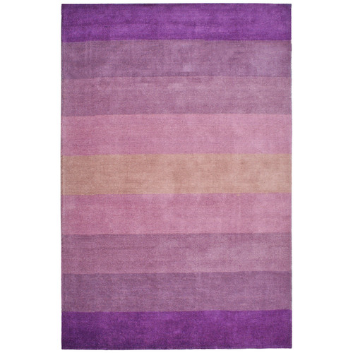 St. Croix Aspect Purple Stripes Area Rug