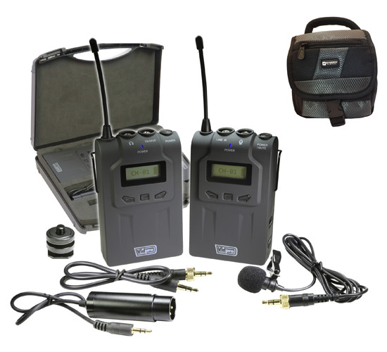 Hasselblad H5D-40 Digital Camera External Microphone by Vidpro by Synergy Digital