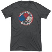 Beetle Bailey Red White And Bailey Mens Tri-Blend Short Sleeve Shirt