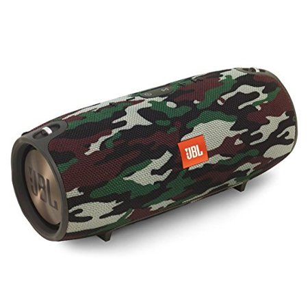 JBL Charge 3 Portable Bluetooth Speaker, Squad Camouflage